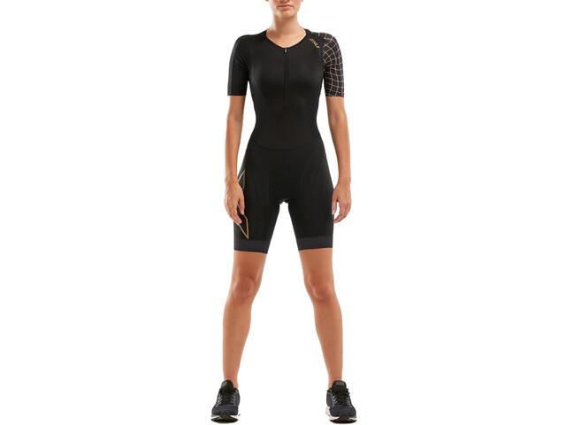 2XU Compression Strój triathlonowy Kobiety, black/gold